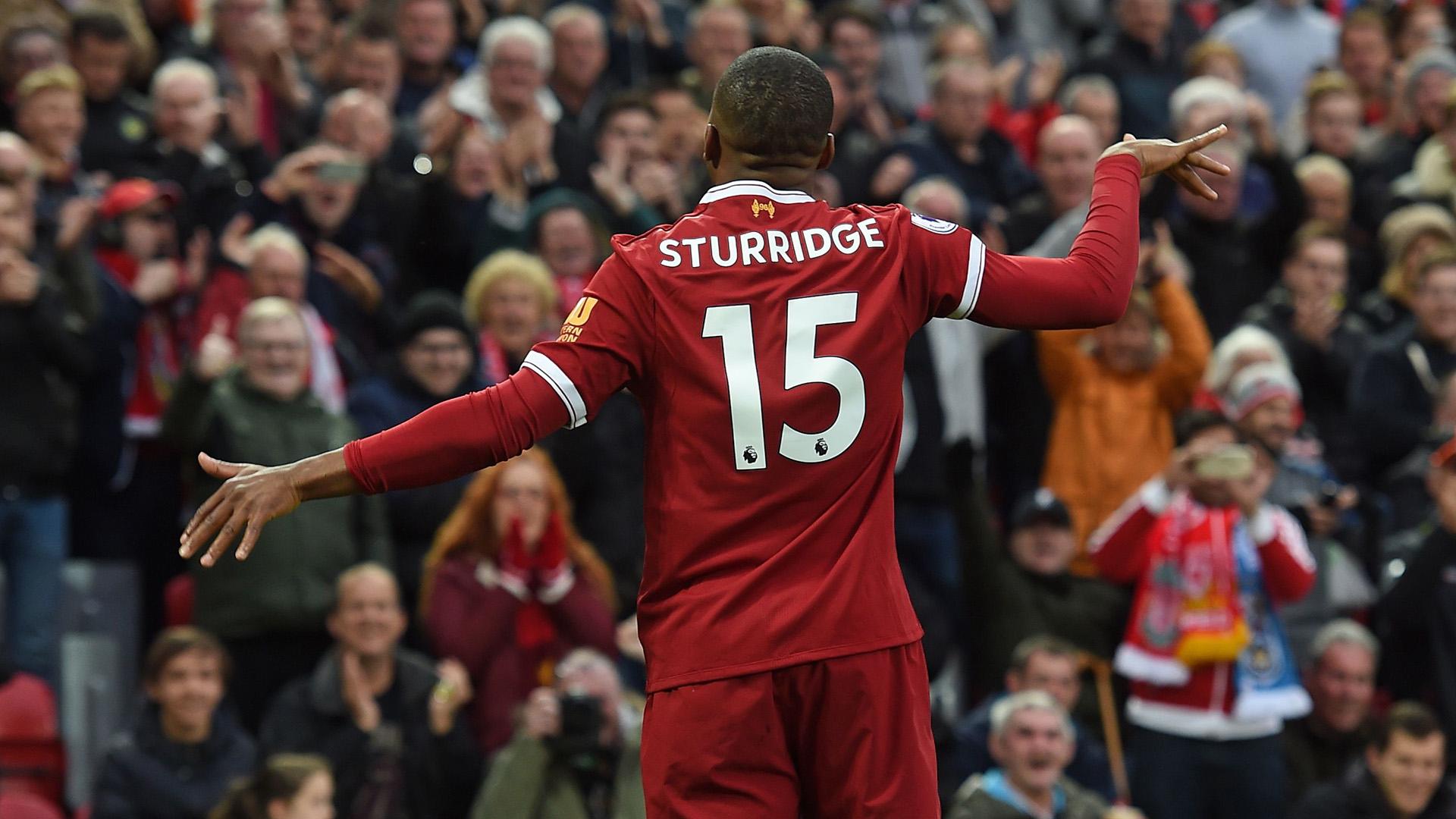 Daniel Sturridge Liverpool Huddersfield Town Premier League