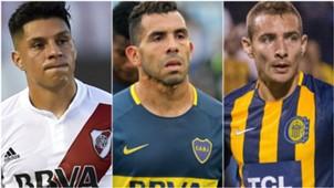 Jugadores desvalorizados 2018 Enzo Perez Tevez Marco Ruben