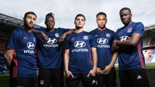 Lyon away kit 2018-19