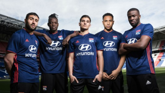 Lyon away kit 2018-19
