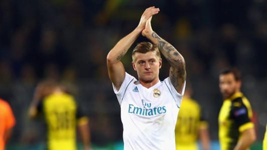 Toni Kroos Real Madrid Dortmund 09262017