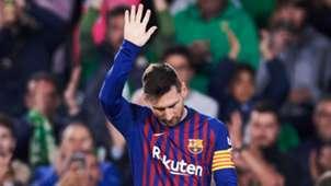 Lionel Messi Betis vs Barcelona 2018-19