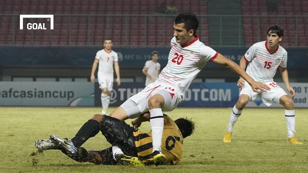 U19 Malaysia U19 Tajikistan Bảng D VCK U19 châu Á 2018