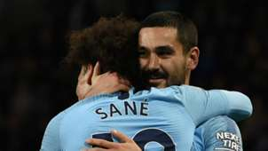 Ilkay Gundogan Leroy Sane Manchester City 2018-19