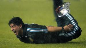 Diego Maradona Peru Argentina World Cup qualifying 2010