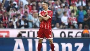 Robert Lewandowski FC Bayern München Bundesliga 14102017