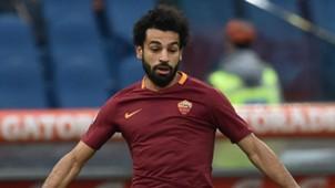 Mohamed Salah Roma Serie A 2016-17