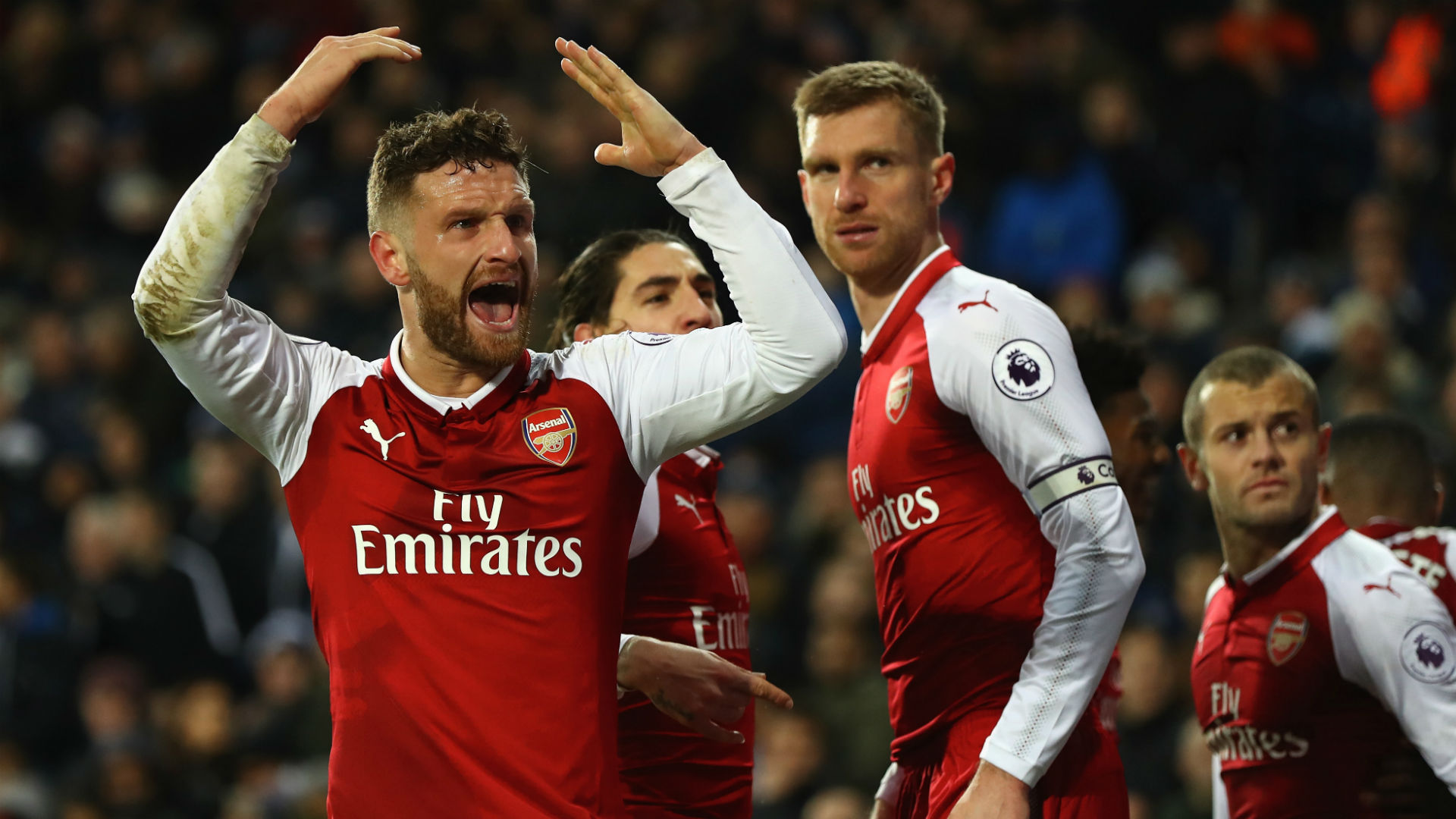 Arsenal vs Chelsea: Controversy as Bellerin rescues point for Gunners