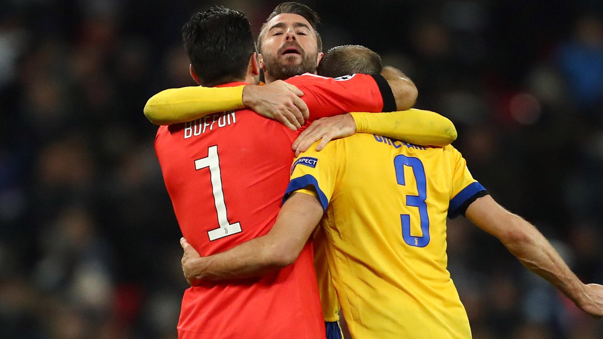 Tottenham-Juve, Barzagli e Chiellini: