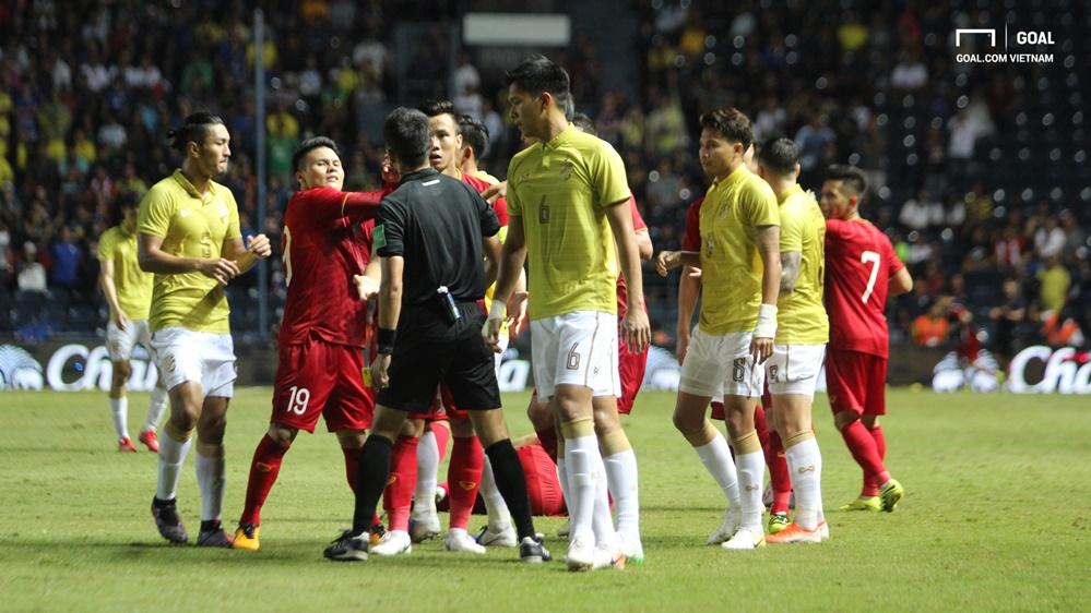 Nguyen Quang Hai - Que Ngoc Hai - Doan Van Hau Vietnam vs Thailand King's Cup 2019