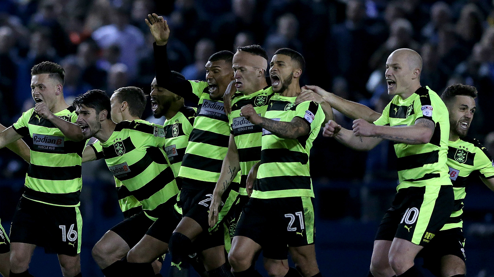 Sheffield Wednesday v Huddersfield Town Championship 17052017