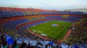 Camp Nou Iniesta