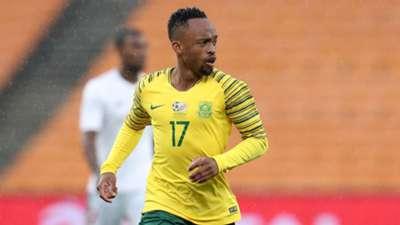 Lebogang Phiri, Bafana Bafana, October 2018