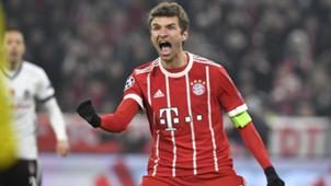 Thomas Müller FC Bayern Champions League Besiktas 0218