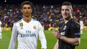 Luka Jovic Cristiano Ronaldo composite