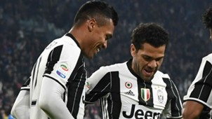 Alex Sandro Daniel Alves Juventus 09 05 2017
