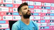 Messi Piqué rueda prensa Barcelona