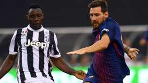 Kwadwo Asamoah Juventus Lionel Messi Barcelona ICC 2017