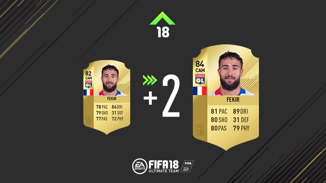 FIFA 18 Ratings Refresh Ligue 1 Fekir