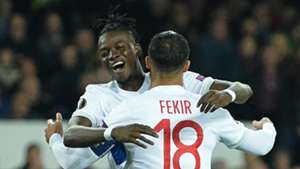Nabil Fekir Lyon Everton Europa League