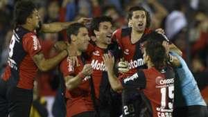 Maxi Rodriguez Ignacio Scocco Milton Casco Newells Boca Copa Libertadores 2013