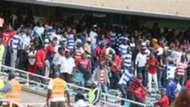AFC Leopards fans v Gor Mahia.