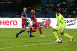 Substitute 16 year old Gourav Mukhi of Jamshedpur FC scored the first equalizer of the game against BFC in Hero ISL