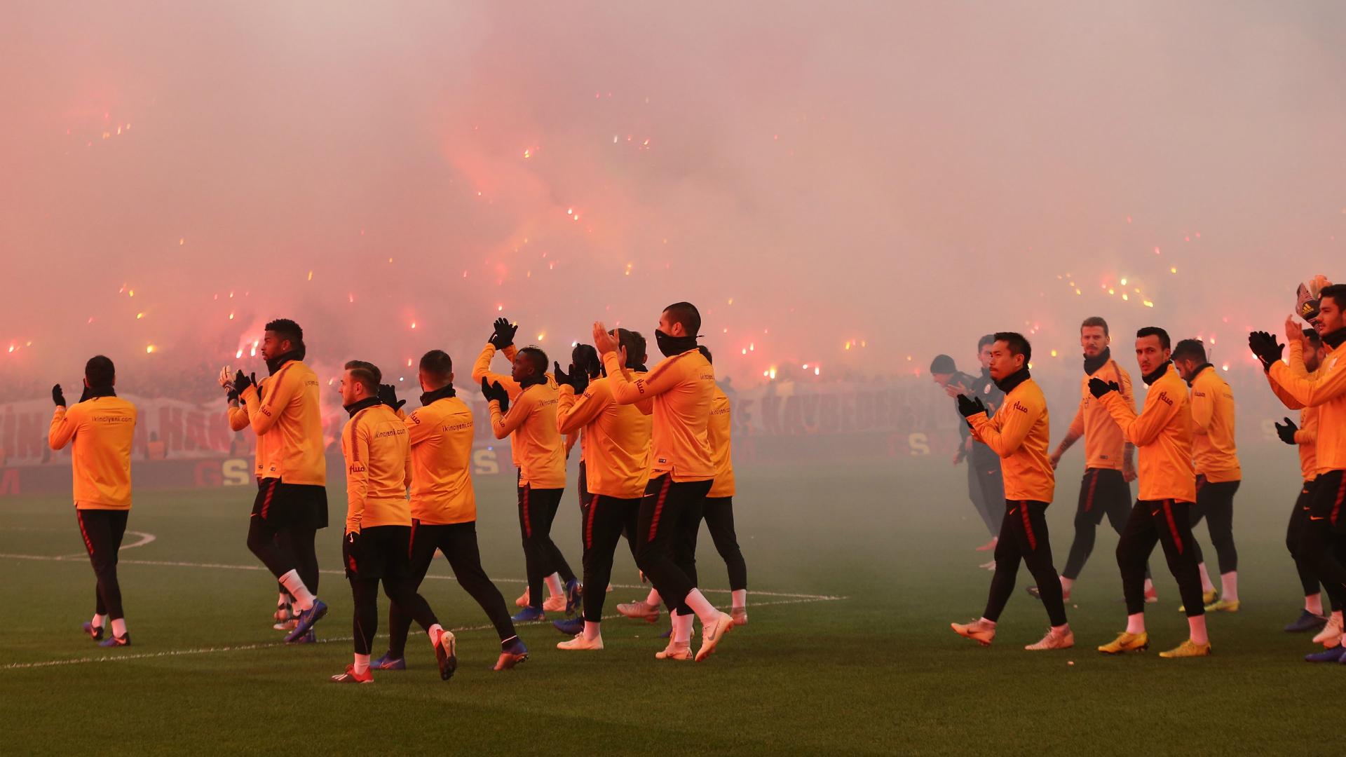 Galatasaray training 011218