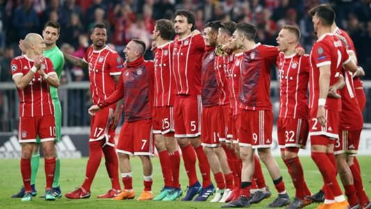 Bayern Munchen UEFA Champions League 04112018