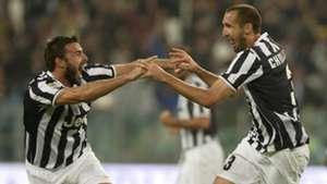 Barzagli Chiellini Juventus