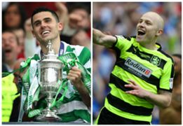Tom Rogic Celtic Scottish Cup Aaron Mooy Huddersfield Town Championship
