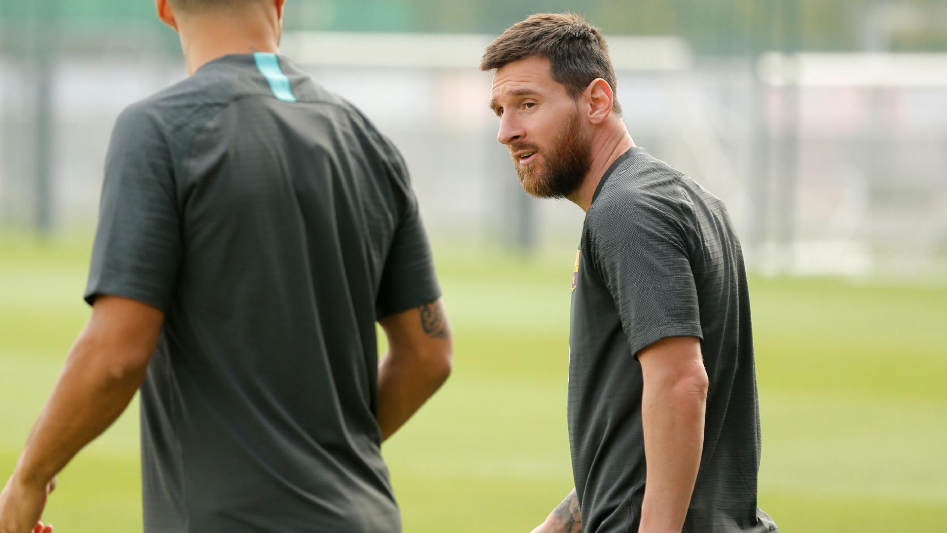 Lionel Messi Barcelona 16092019