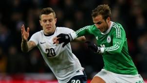 Jack Wilshere Mario Gotze England Germany