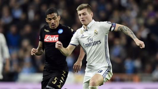 Allan Toni Kroos Real Madrid Napoli