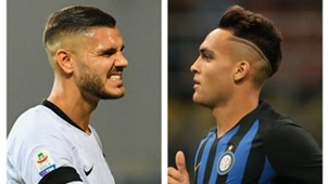 Mauro Icardi Lautaro Martinez -Inter