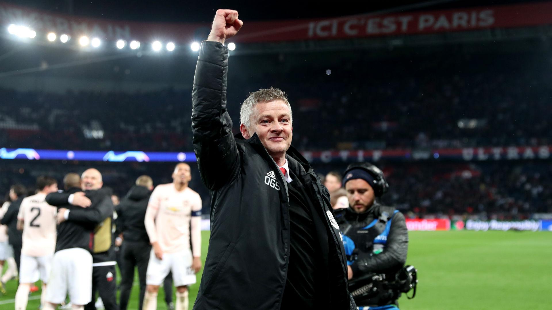 Ole Gunnar Solskjaer Manchester United PSG Champions League 06032019