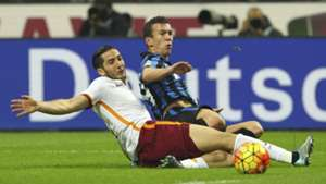 Manolas Perisic Inter AS Roma