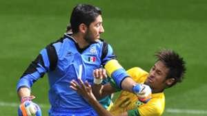 Jesus Corona Mexico Neymar Brazil Olympics