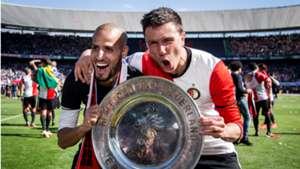 Karim El Ahmadi, Steven Berghuis, Feyenoord, 05142017