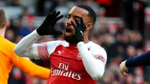 Alexandre Lacazette Arsenal 2018-19