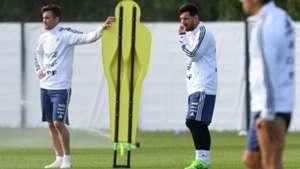 Nicolas Tagliafico, Lionel Messi 06112018