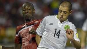 Javier Hernandez Daneil Cyrus Mexico vs. Trinidad and Tobago