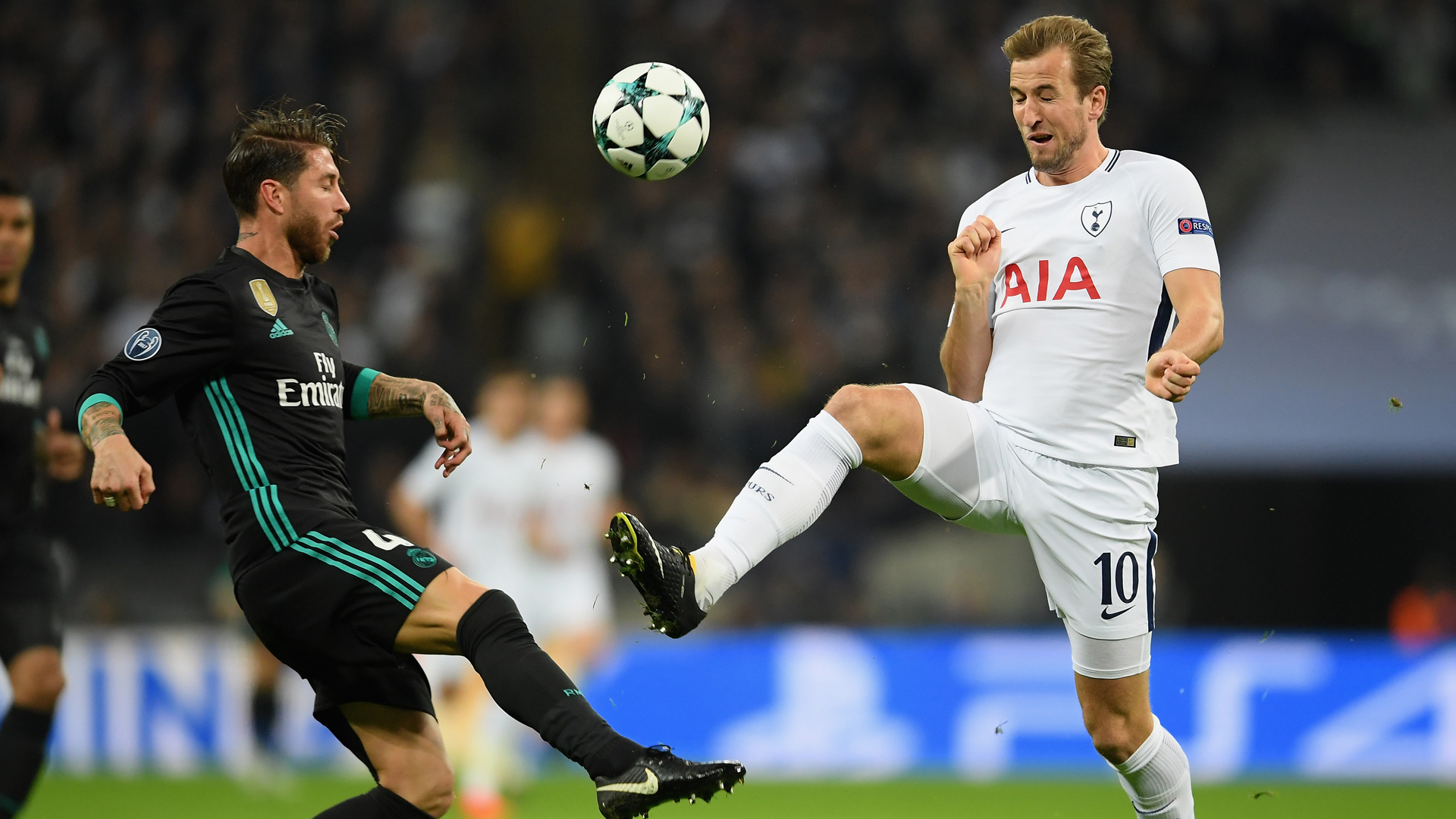 Tottenham Real Madrid Champions League Ramos Kane 01112017