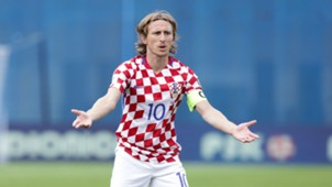 Luka Modric Croatia Kosovo WC Qualicification