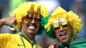 Fans Brazil Switzerland World Cup 17062018