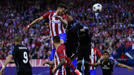 Saul Niguez Atletico Madrid Real Madrid Champions League