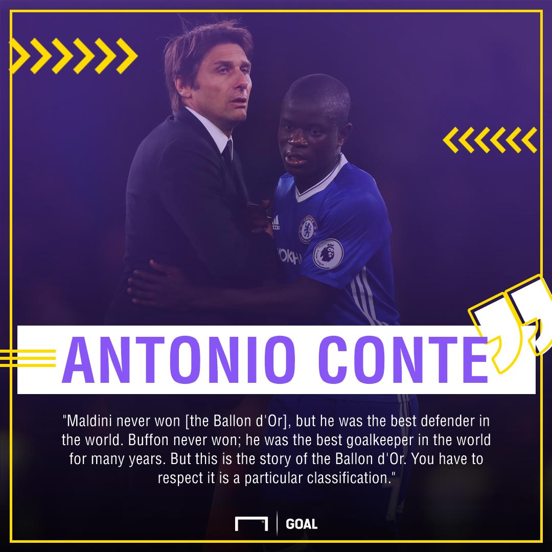 Antonio Conte on Kante PS