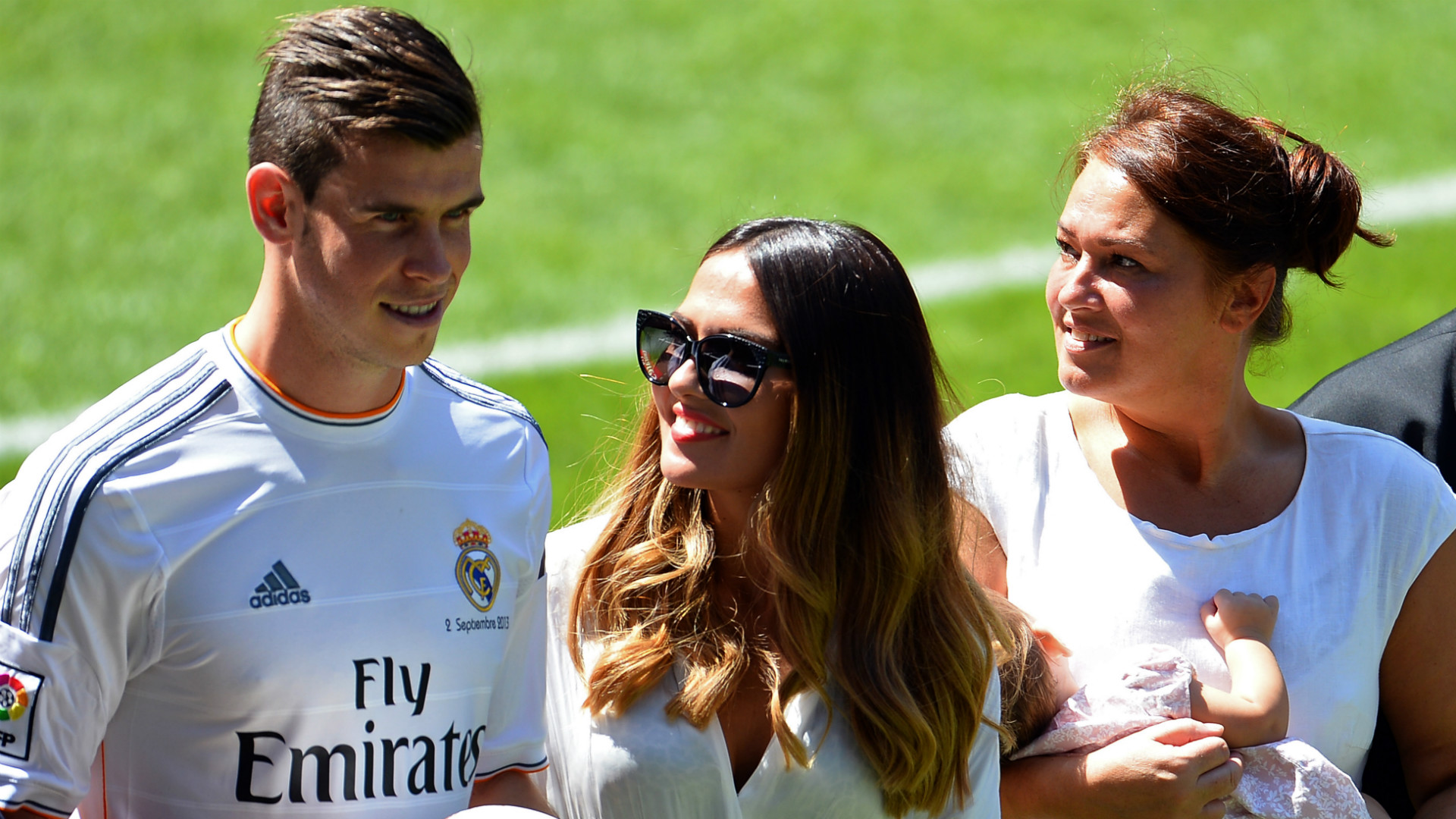 Gareth Bale Emma Rhys-Jones