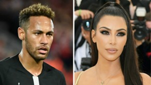 Neymar Kim Kardashian GFX
