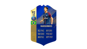 FIFA 18 Ligue 1 Team of the Season Marquinho